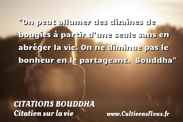 citations bouddha