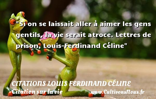 citations louis ferdinand céline