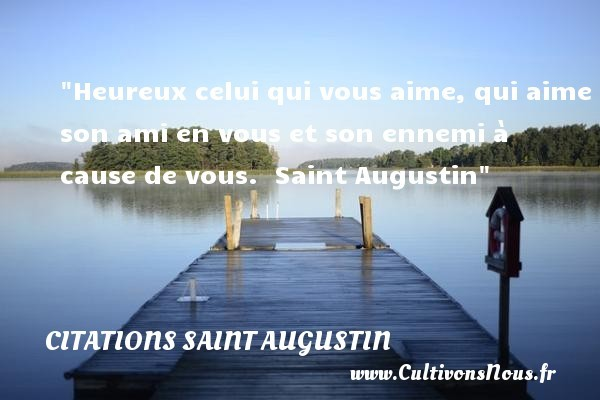 citations saint augustin