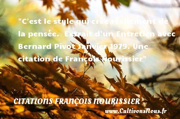citations françois nourissier