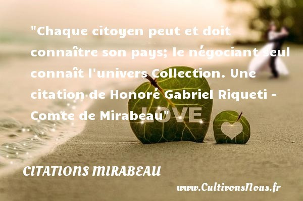citations mirabeau