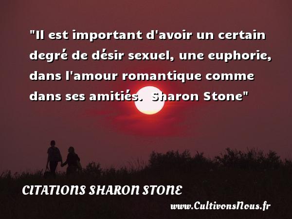 Il Est Important Davoir Un Certain Degré Citations Sharon