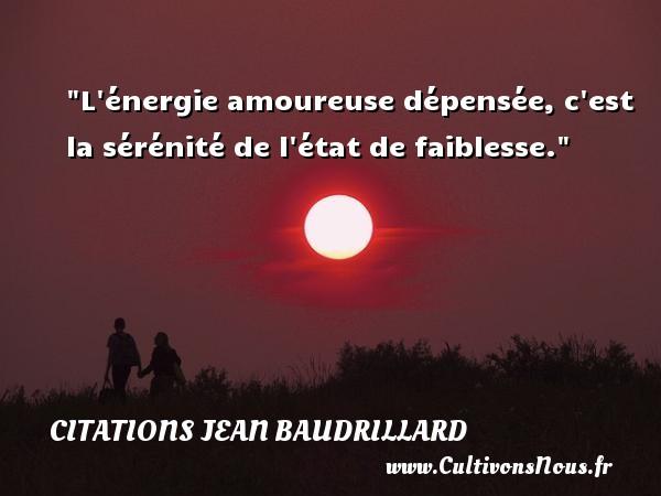 Citation Jean Baudrillard Les Citations De Jean