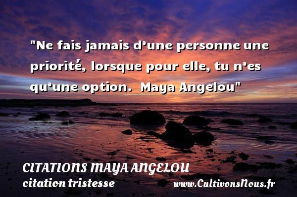 Citation Maya Angelou Les Citations De Maya Angelou