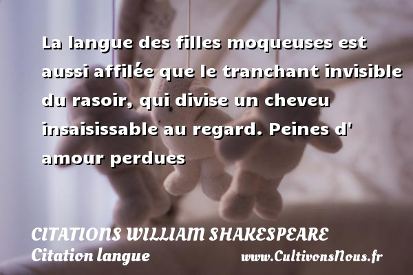 Citation Langue Cultivons Nous