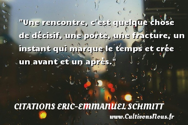 Rencontre citation blog