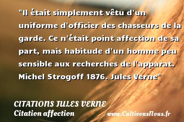 Il était Simplement Vêtu D Un Citations Jules Verne