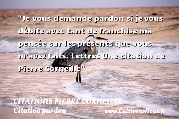 Top Citation pardon : Les citations sur le pardon - Cultivonsnous.fr NN98