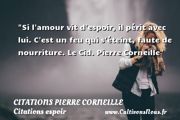 Si L Amour Vit D Espoir Il Citations Citations Pierre