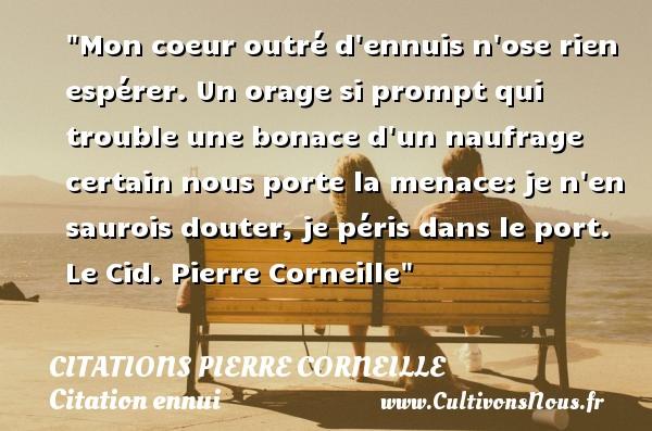 Citation cid corneille