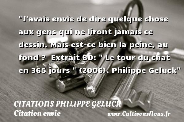 J Avais Envie De Dire Quelque Citations Citations