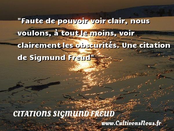 Citaten Freud : Citation sigmund freud les citations de