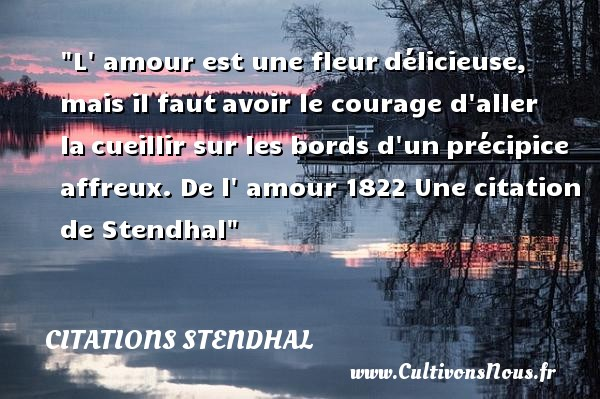 le courage proverbe