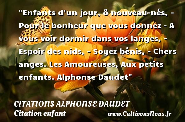 Favori Citation enfant : Les citations sur les enfants - Cultivonsnous.fr DT64