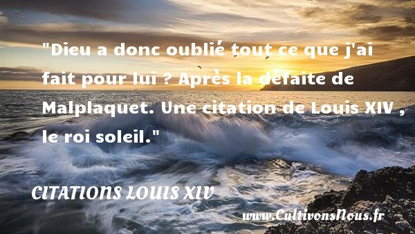 Citation Louis Xiv Les Citations De Louis Xiv