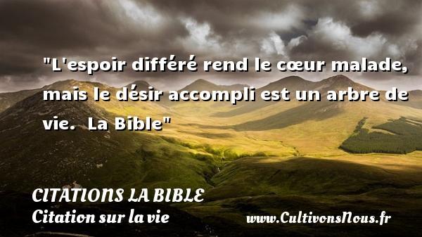 Citation Biblique