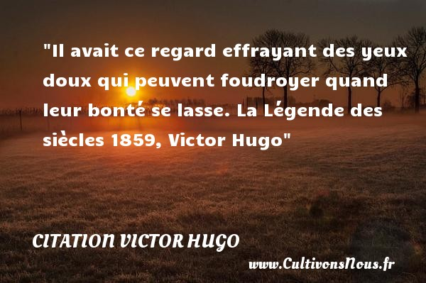 siècle de victor hugo