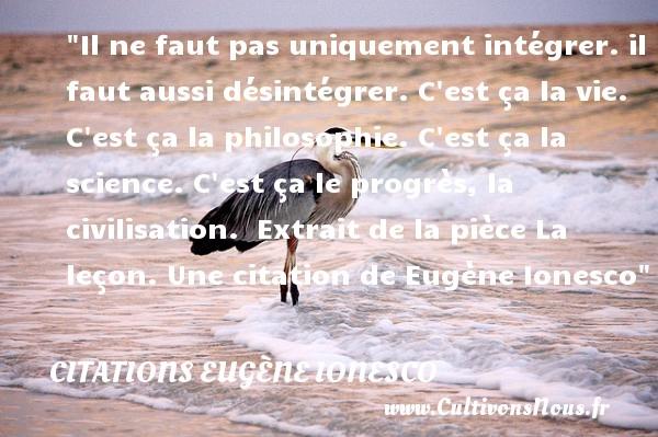 Il Ne Faut Pas Uniquement Citations Citations Eugène