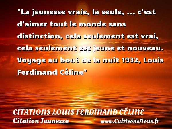 Citation Louis Ferdinand Celine Les Citations De Louis Ferdinand