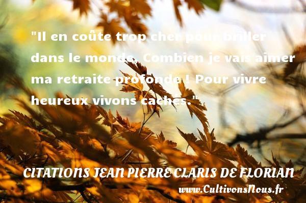 Il En Coûte Trop Cher Citations Jean Pierre Claris De