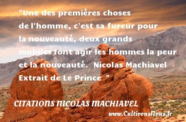 Citation Nicolas Machiavel Les Citations De Nicolas