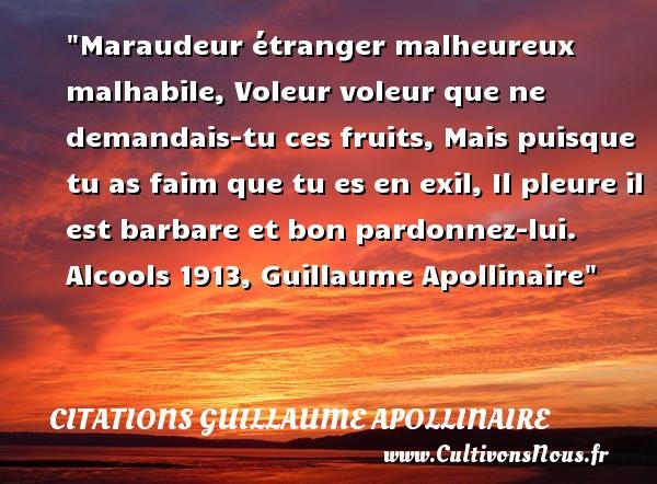 Citation Guillaume Apollinaire Les Citations De Guillaume