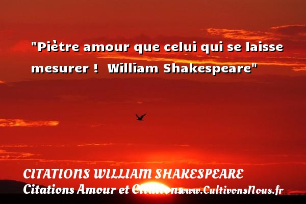 Citation amour citation les citations amour citations - Shakespeare citation amour ...