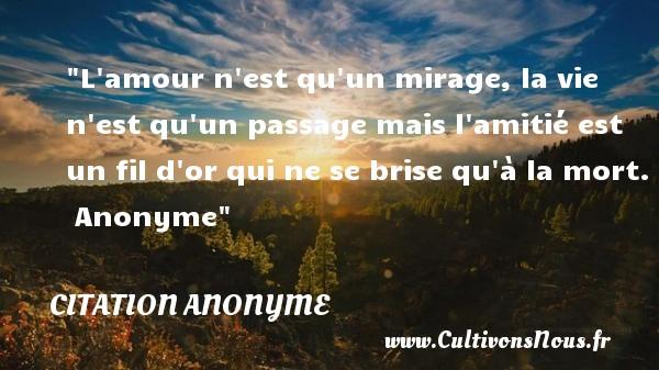 Citation Amitie Mort Infos Et Ressources