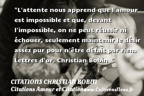 Citations Amour Impossible Cultivons Nous