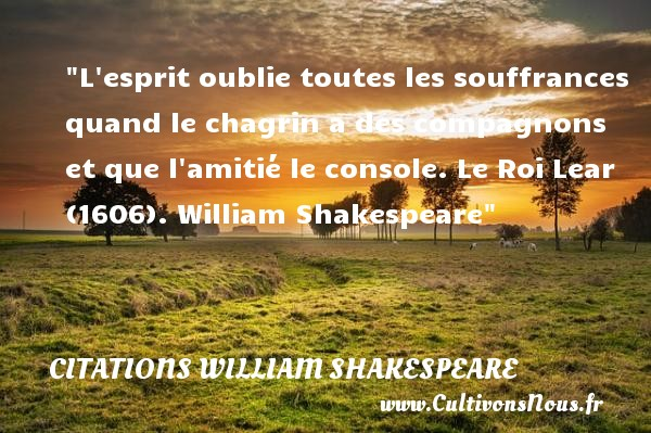 Citation william shakespeare les citations de william - Shakespeare citation amour ...