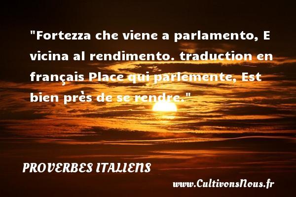 Bien-aimé Proverbe italien : tous les proverbes italiens - Cultivonsnous.fr OX16