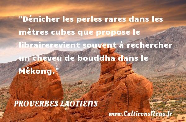 Souvent Proverbe laotien - Les proverbes laotiens - Cultivonsnous.fr EN07