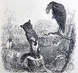 Le-corbeau-et-le-renard