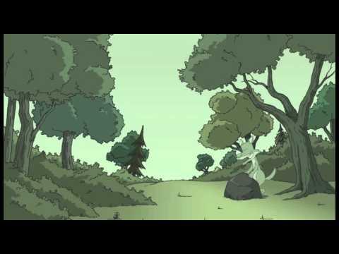 Le loup, le lion et les animaux de la forêt, un conte pour enfants