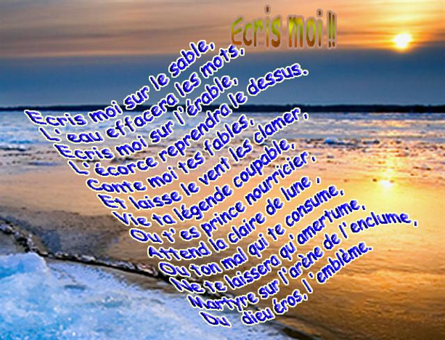 ecrismois-poésie
