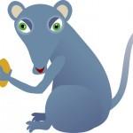 APHIA la petite souris bleue et… l'anniversaire de MELUSINE