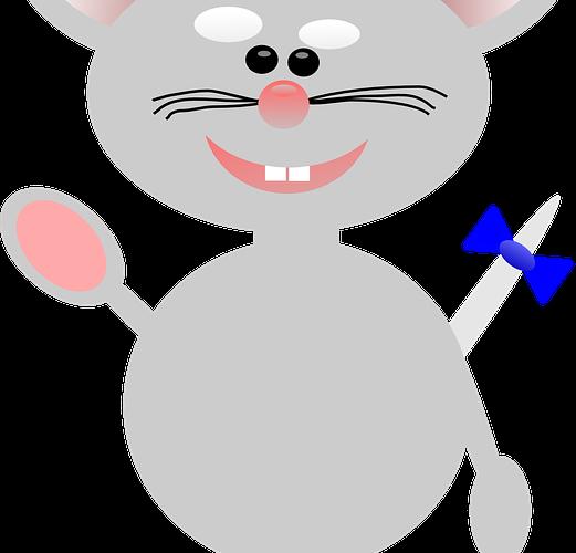 Aphia, une souris bleue, un conte de Raymonde Verney