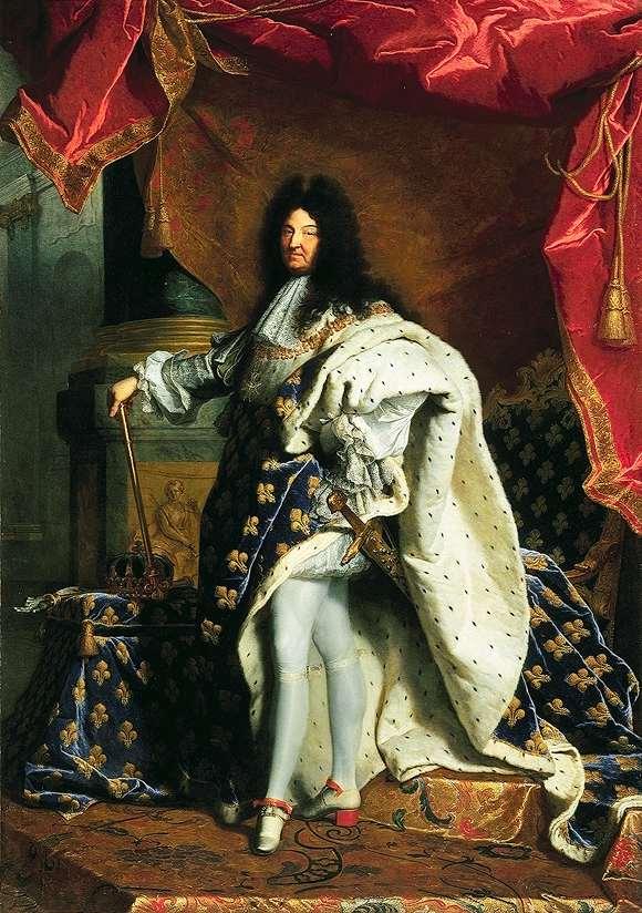 Louis XIV portrait du roi soleil