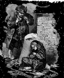 La petite fille aux allumettes de Hans Christian Andersen