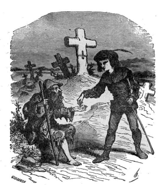 Le compagnon de route, un conte de Hans Christian Andersen
