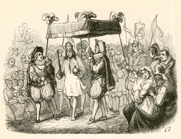 Les habits neufs de l'empereur, un conte de Hans Christian Andersen
