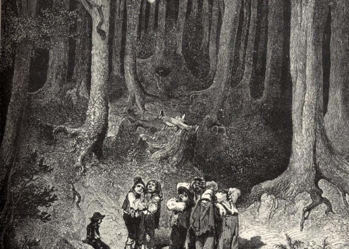 Le petit poucet, un conte de Charles Perrault