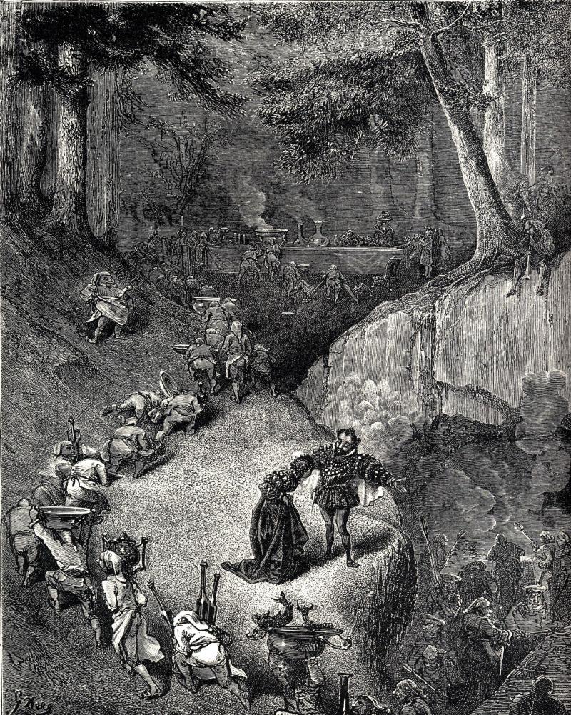Riquet à la houppe , un conte de Charles Perrault