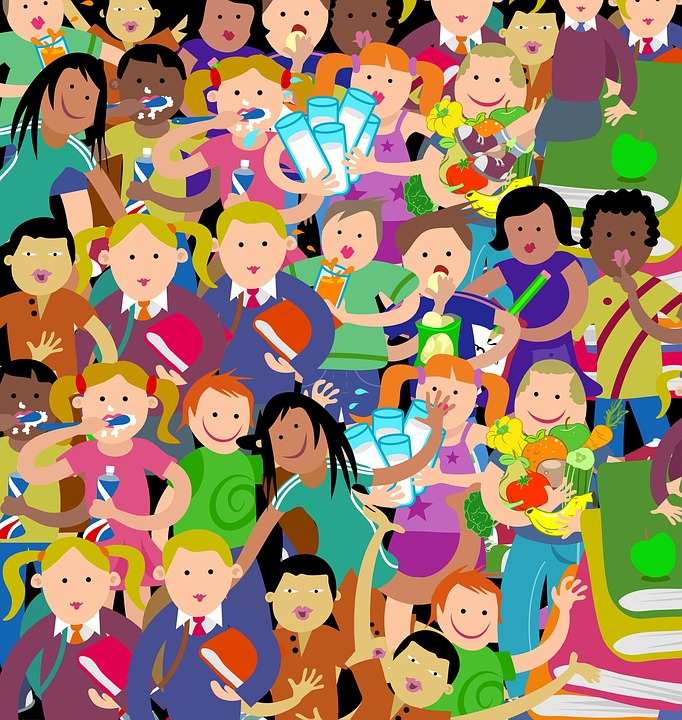 Papotages d'enfants, un conte de Hans Christian Andersen