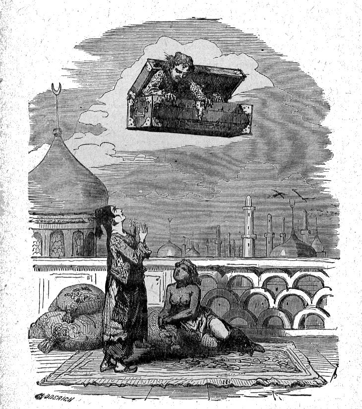La malle volante, un conte de Hans Christian Andersen
