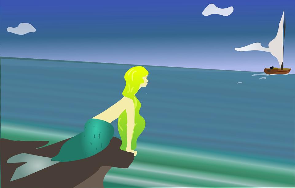 La petite sirène, un conte de Hans Christian Andersen