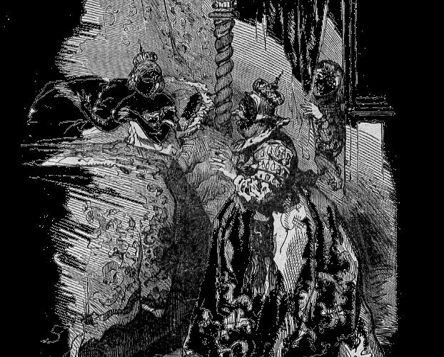 La princesse sur les pois, un conte de Grimm