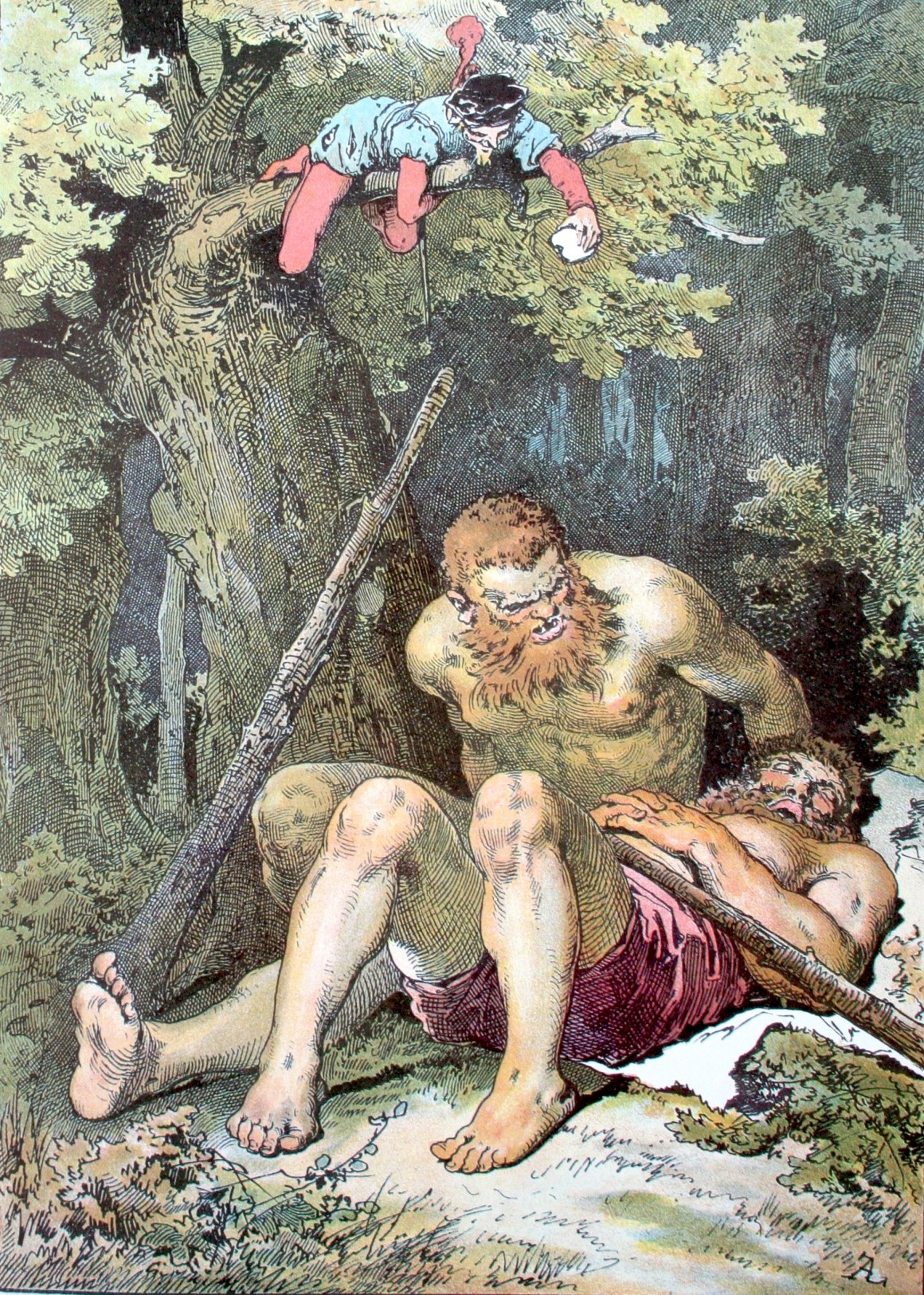 Le vaillant petit tailleur, un conte de Grimm