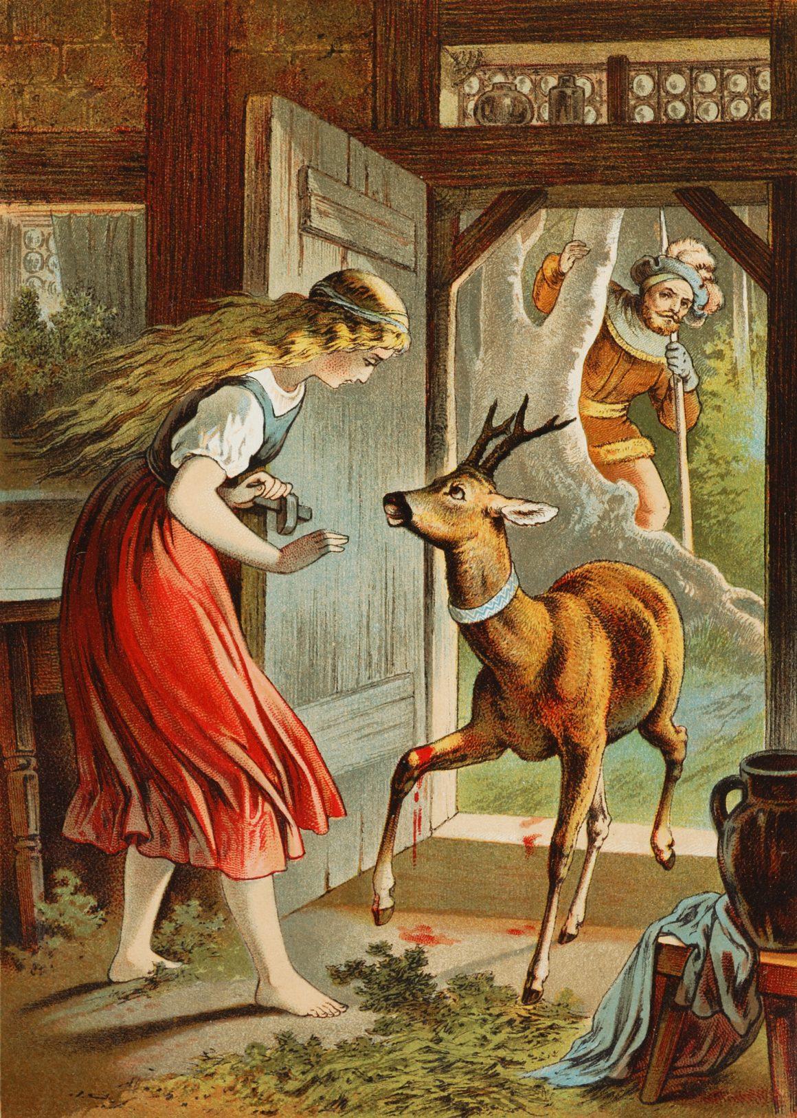 Frérot et soeurette, un conte de Grimm