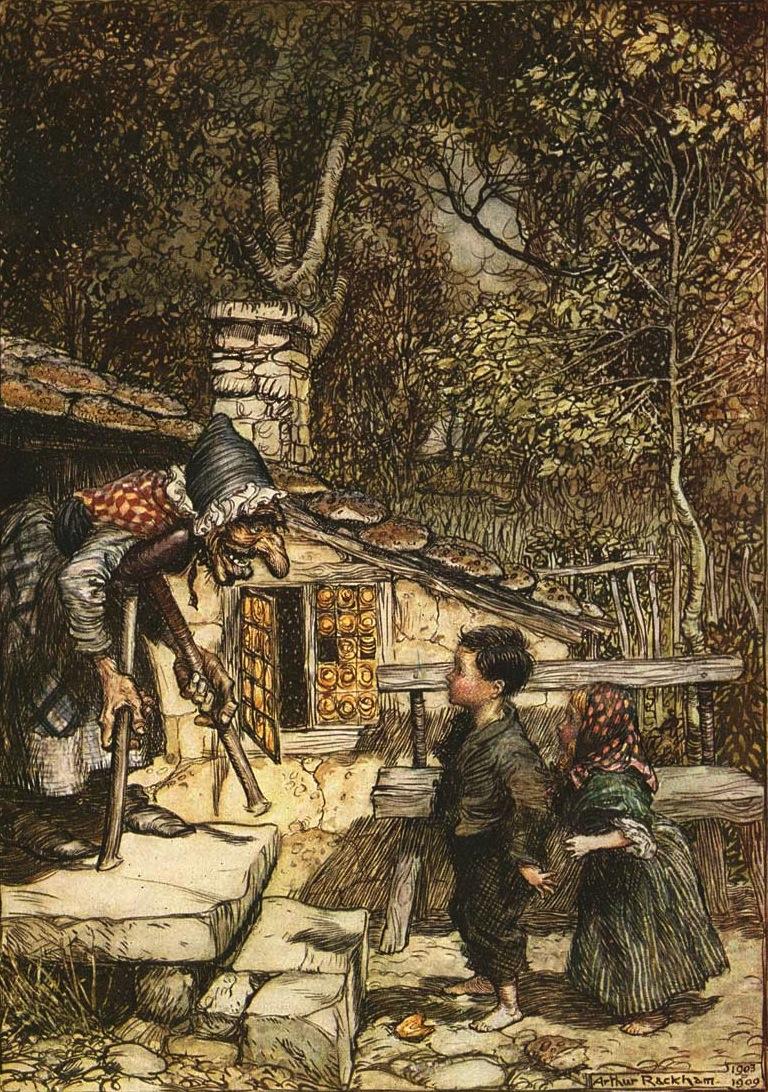 Hansel et Gretel, un conte des frères Grimm